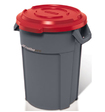 Couvercle receptacle multi-usage 120L rouge