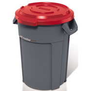 Couvercle receptacle multi-usage 120L - Rouge