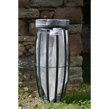 Supp sac protec anti vent fixation SOL gris anth. RAL7016