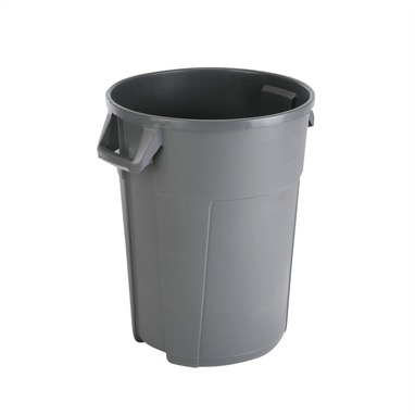 Conteneur receptacle multi-usage 120L gris